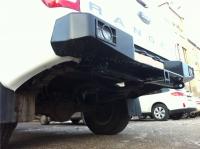 Задний бампер  Ford Ranger после 2012 года с калиткой