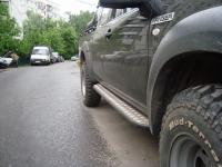 Силовые пороги на Ford Ranger 3 точки крепления