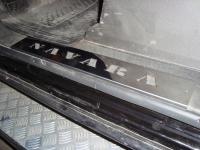 Накладки декоративные из нержавейки на пороги Nissan Navara D40(4шт)
