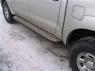 Силовые пороги на Toyota Hilux 3 точки крепления
